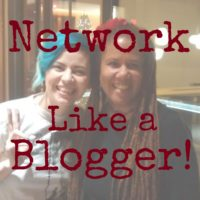 Network Like a Blogger