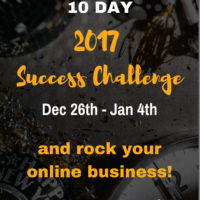 Take the 10 Day 2017 Online Success Challenge!