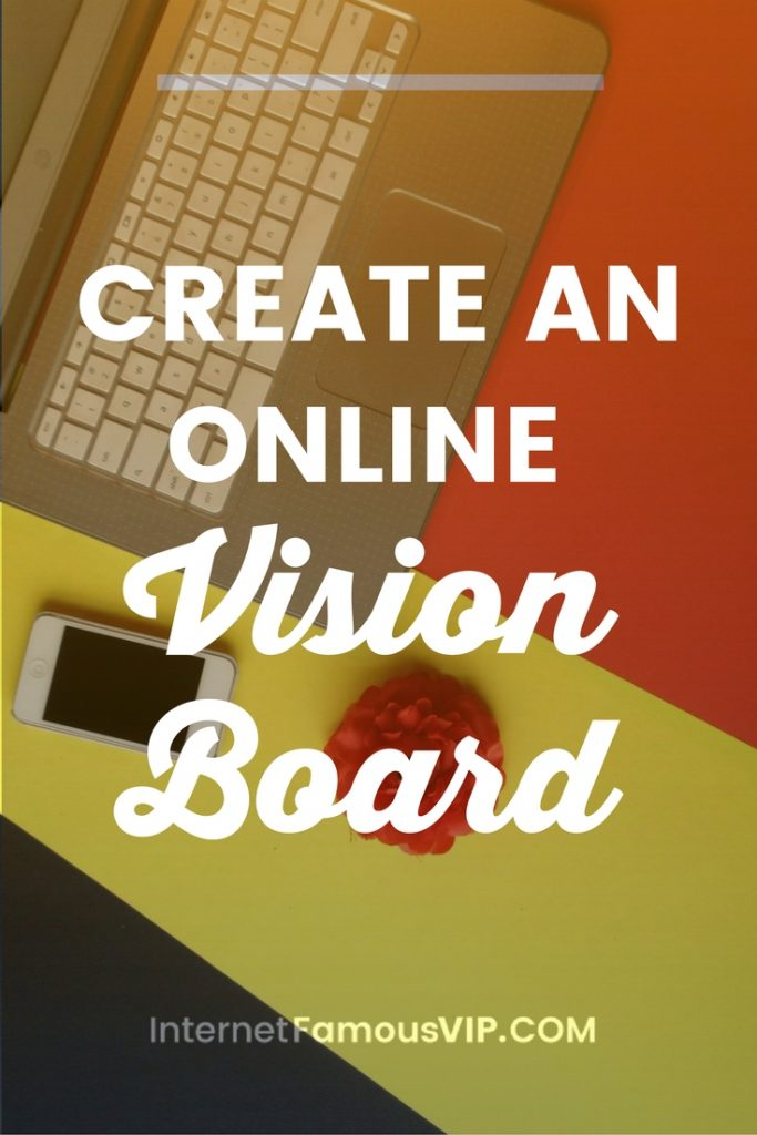 Create an Online Vision Board