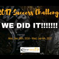 2017 Online Success Challenge – We Did It!!!
