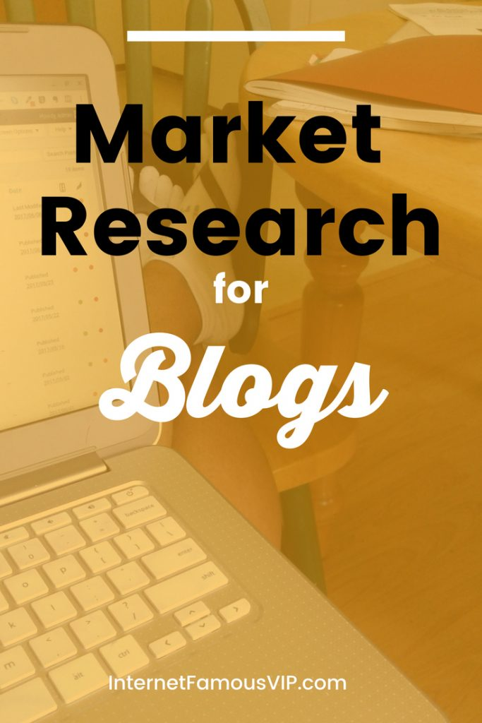 Market Research for Blogs