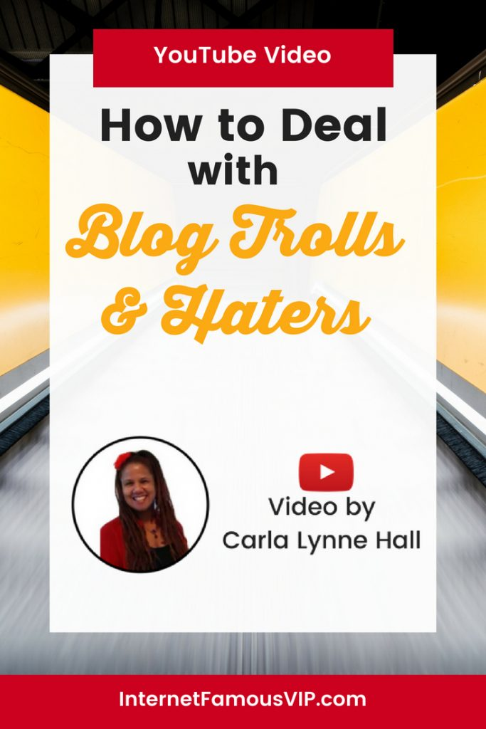 Blog Trolls and Haters!