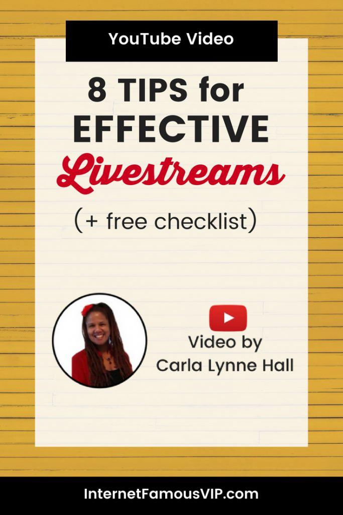 8 Tips for Effective Livestreaming Videos