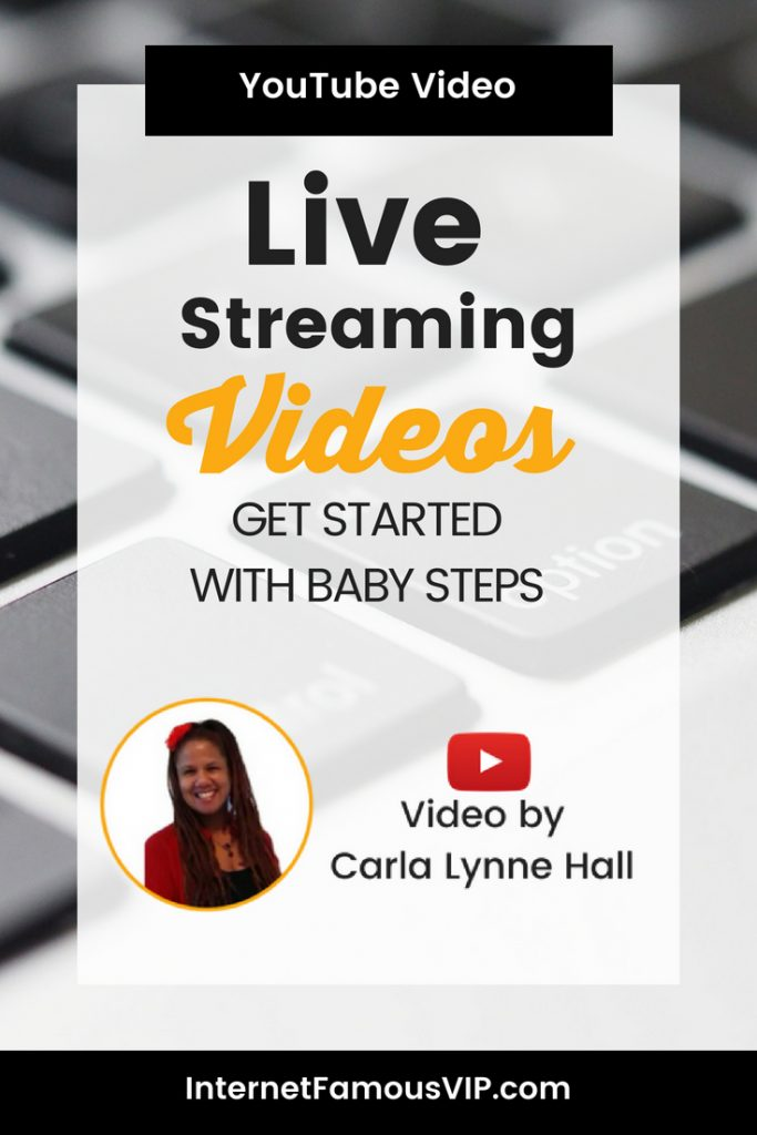 Live Streaming Videos: Get Started with Baby Steps