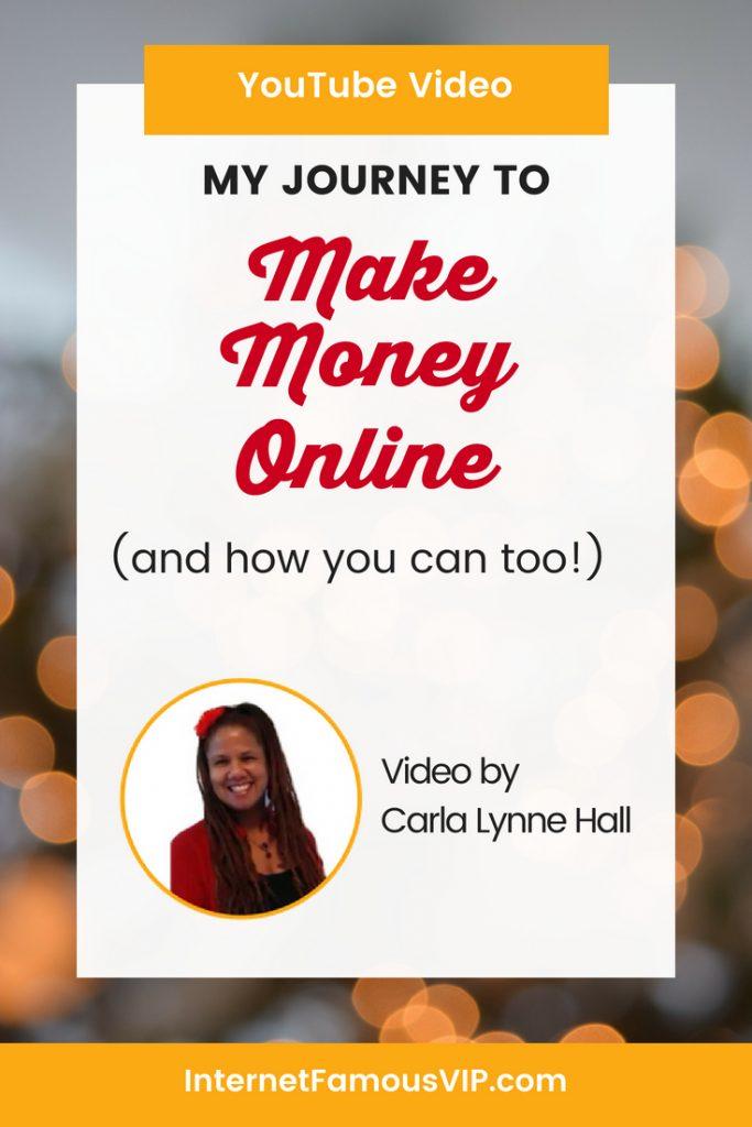 Making Money Online: My Online Journey