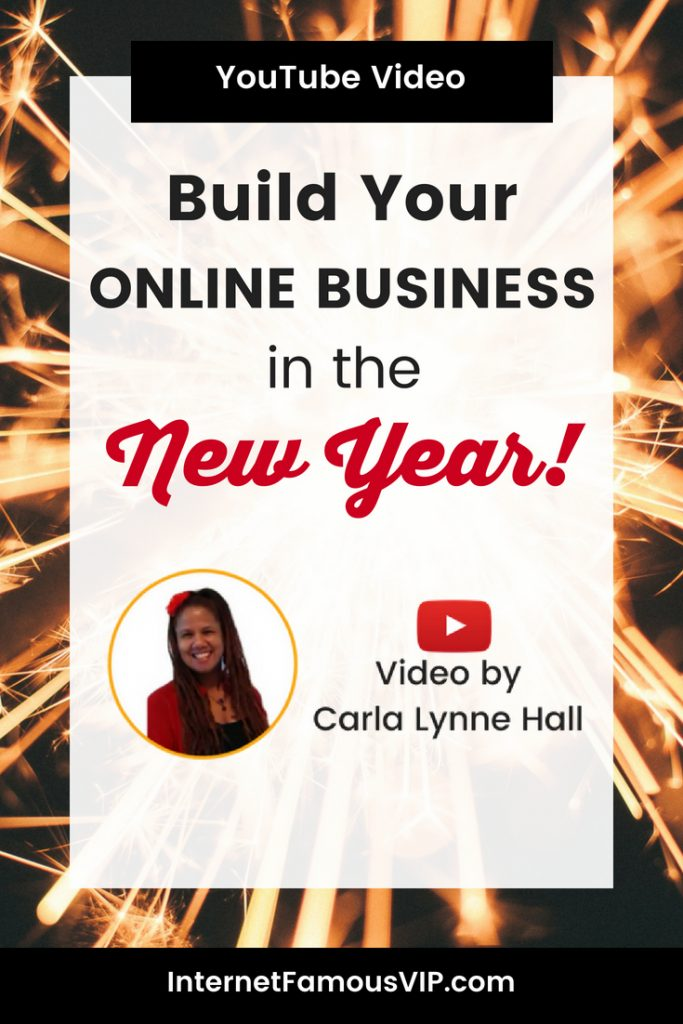 Build Your Online Business in the New Year