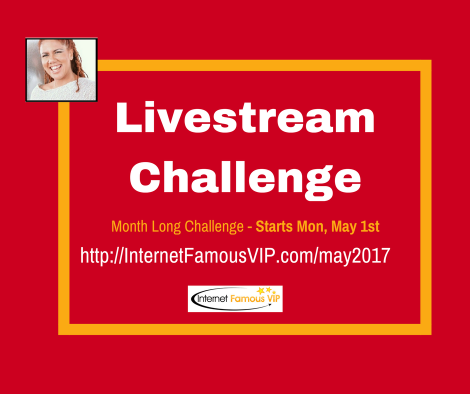 facebook live challenge