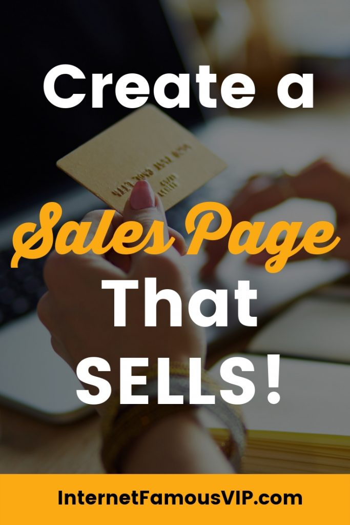 How to Make a Sales Page That Sings!
