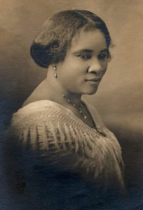 black fashion bloggers and madam CJ Walker