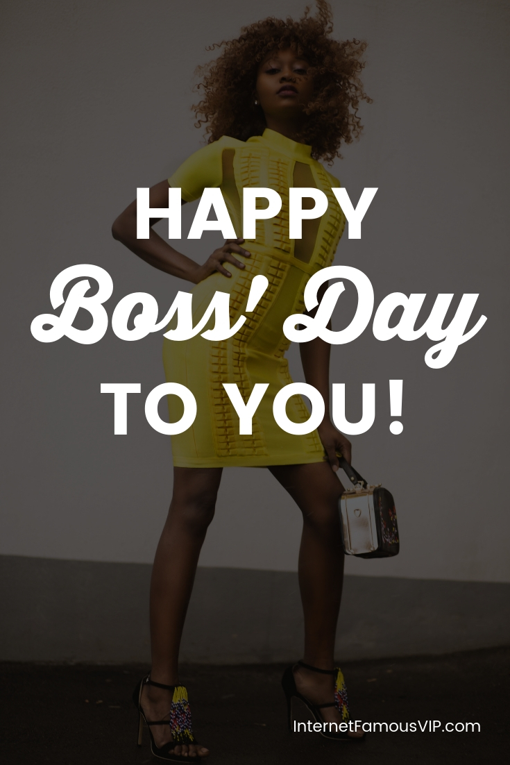 "Oct 16th is ""celebrated"" in the United States as ""Boss' Day"", a day for kissing up to someone you don't necessarily even like 😁 . I prefer turning this day on its head, and asking the question: ""Why have a boss, when you can BE a boss?!"" . This is the PERFECT day to review your business plans and strategies, especially when you're planning to leave your 9-5 for good! . If you're already working for yourself, this is also the day for celebrating your accomplishments. ."