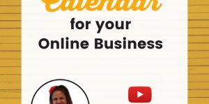 Marketing Content Calendar for Your Online Business